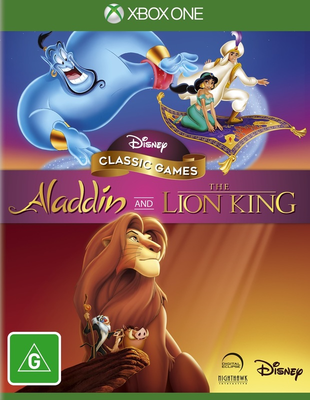 Aladdin & the Lion King for Xbox One