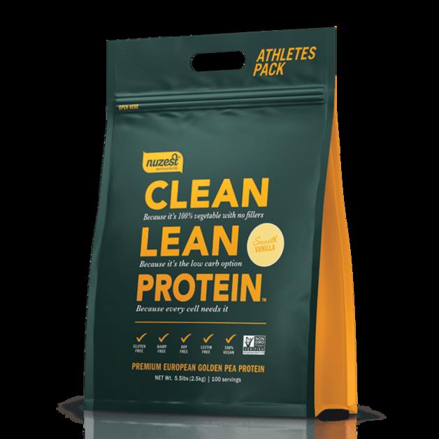 Nuzest: Clean Lean Protein - Smooth Vanilla (2.5kg)