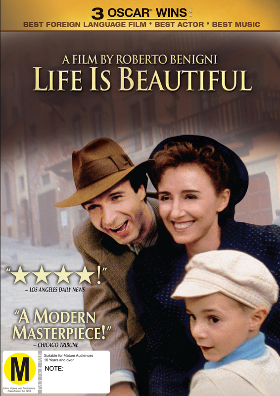 Life Is Beautiful on DVD