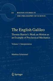 The English Galileo by Matthias Schemmel image