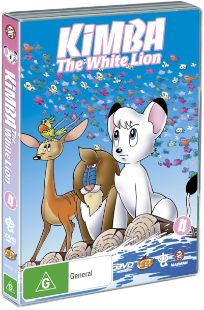 Kimba The White Lion - Vol 4 on DVD image