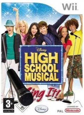 High School Musical: Sing It! + Microphone for Nintendo Wii