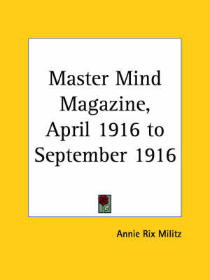 Master Mind Magazine (1916): v. 10