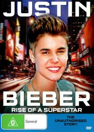 Justin Bieber Rise of a Superstar on DVD