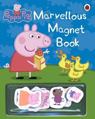 Peppa Pig: Marvellous Magnet Book by Peppa Pig image