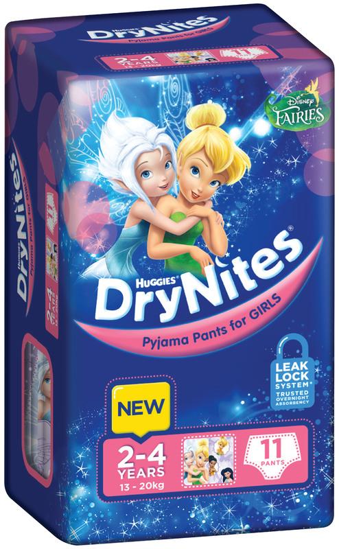 Huggies DryNites - 2-4yrs Girls 13-20kg - (11)