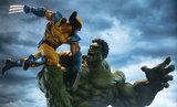 Marvel Hulk vs Wolverine Maquette