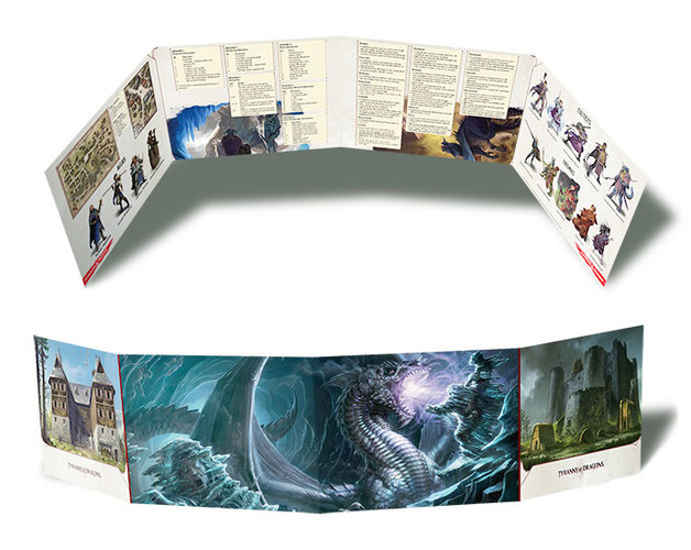 D&D: Tyranny of the Dragons DM's Screen