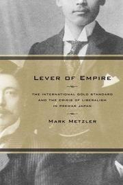 Lever of Empire by Mark Metzler image