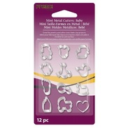 Sculpey Mini Metal Cutters Baby (Pack 12) image