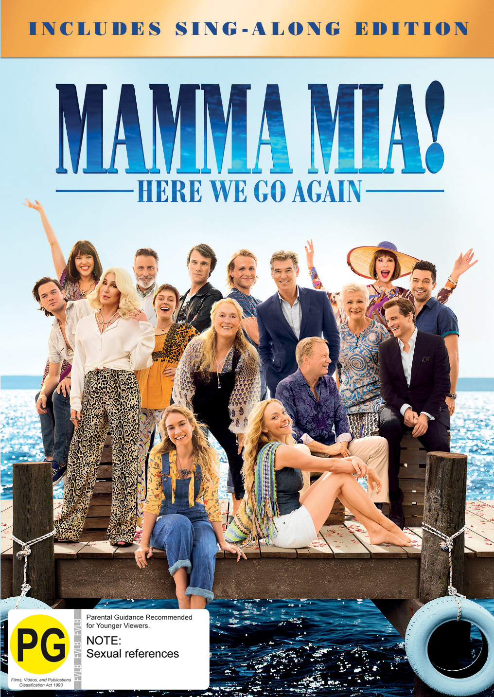Mamma Mia: Here We Go Again! on DVD image