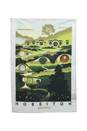 Lord of the Rings: Tea Towel - Rivendell & Hobbiton (2-Pack)