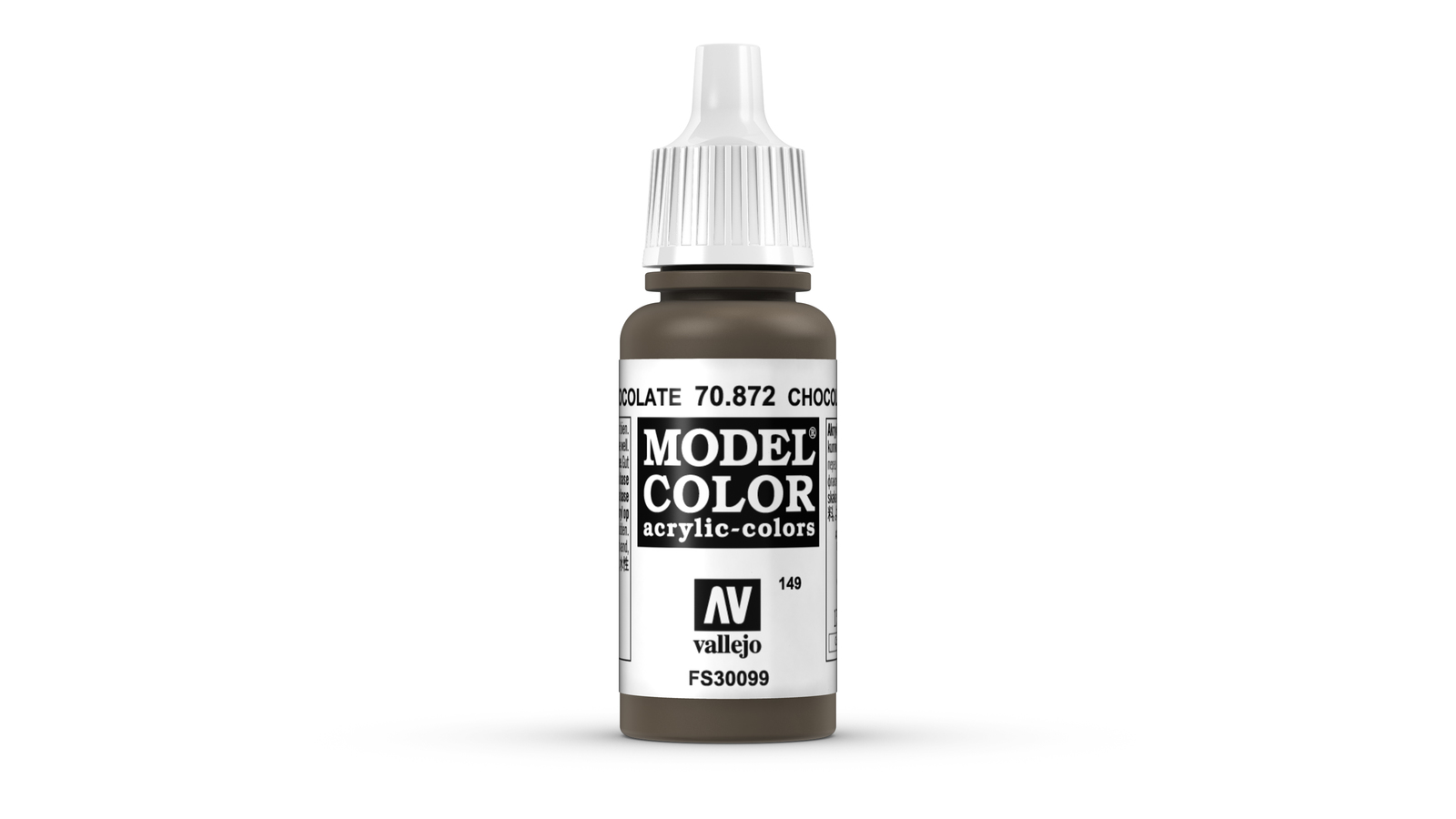 Vallejo Model Colour Chocolate Brown 17ml image