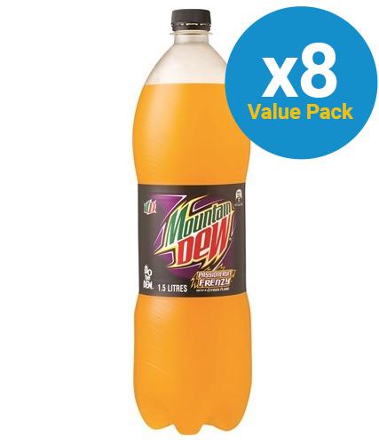 Mountain Dew - Passionfruit 1.5L (8 pack)