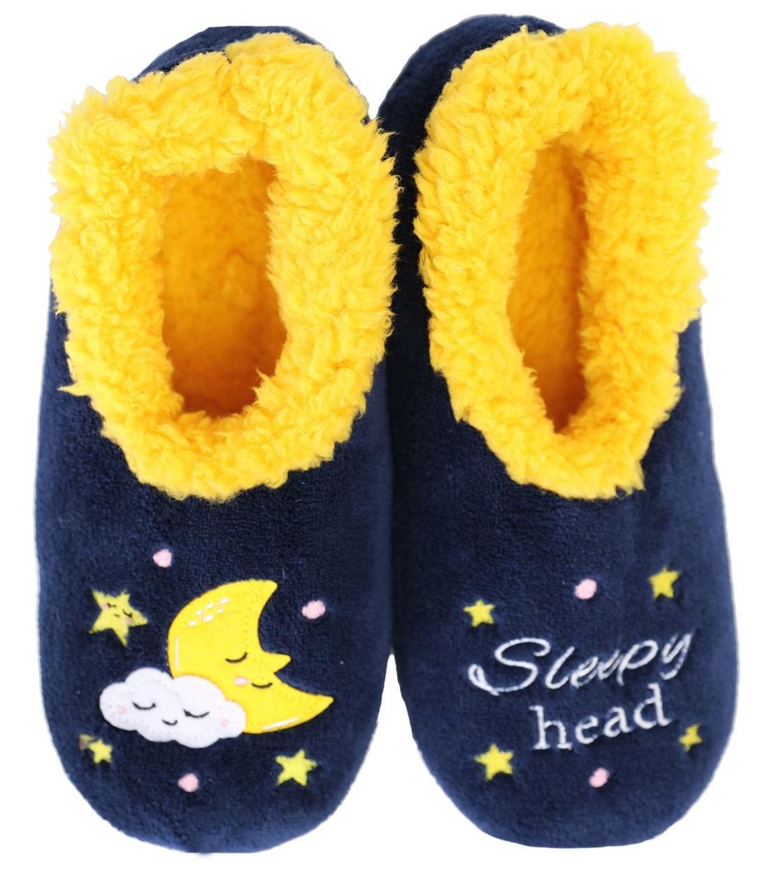 Slumbies: Sleepy Head Pairables - Womens Slippers (Small) image