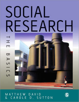 Social Research: The Basics by Matthew David image