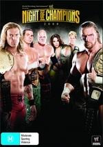 WWE - Night Of Champions 2008 on DVD