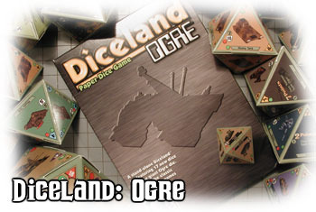 Diceland : Ogre - dice game