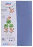 Mighty Metallic A4 120gsm Paper - Sapphire (Pkt 10)