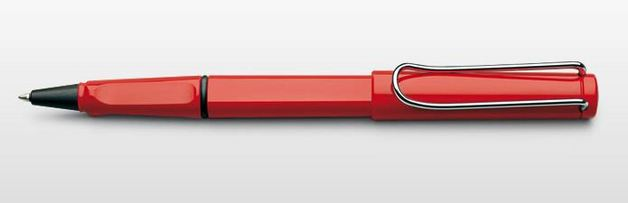 Lamy safari Rollerball Pen - Red
