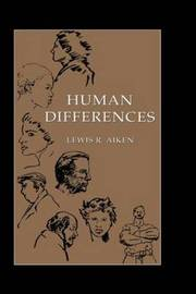 Human Differences by Lewis R Aiken image