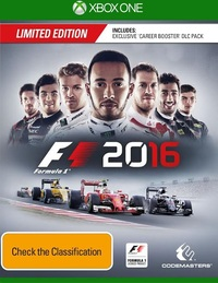 F1 2016 Limited Edition for Xbox One