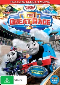 Thomas & Friends - The Great Race on DVD