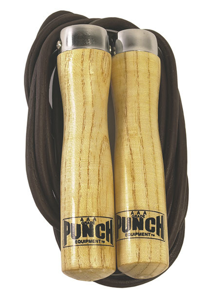 Punch: Leather Skipping Rope - 9ft image