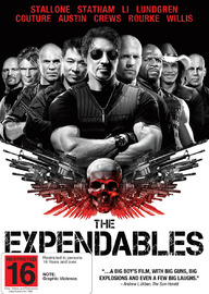 The Expendables on DVD