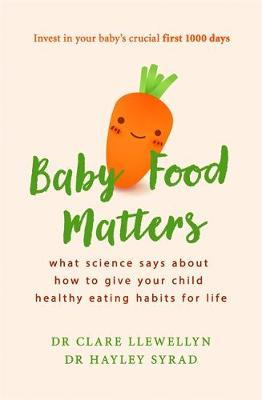 Baby Food Matters by Clare Llewellyn image