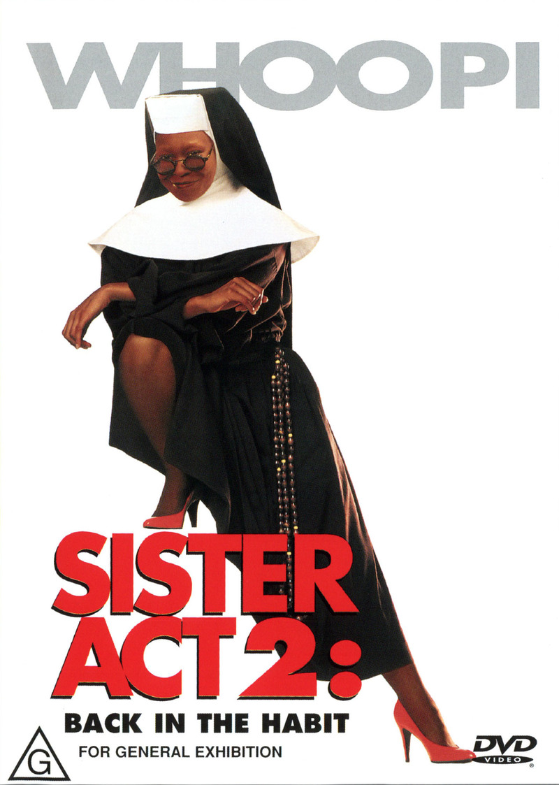 Sister Act 2 on DVD image