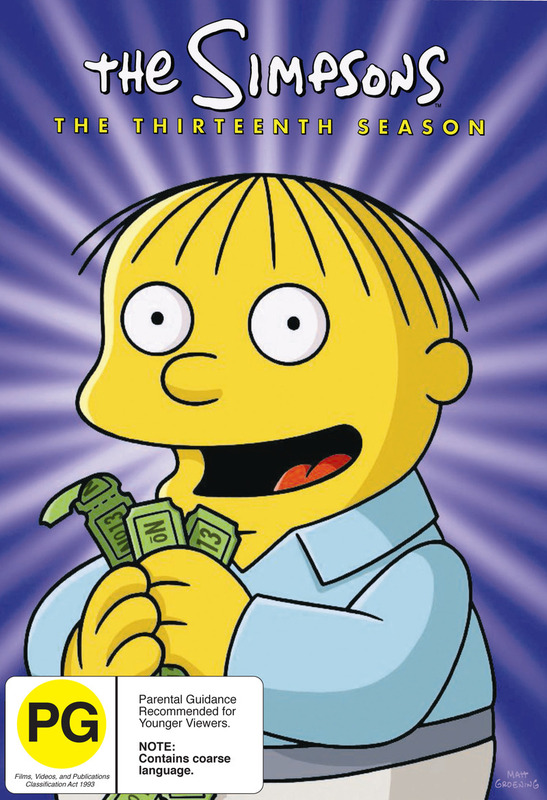 The Simpsons - Season 13 on DVD