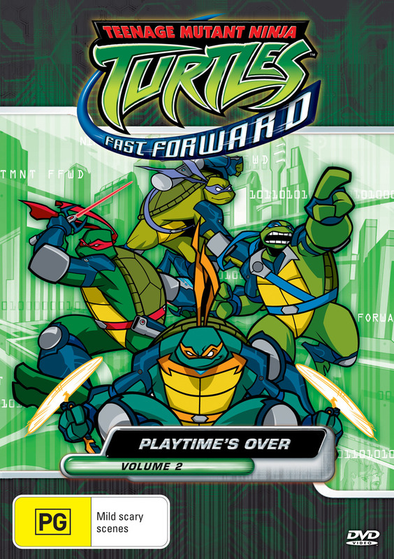 Teenage Mutant Ninja Turtles - Fast Forward: Vol. 2 - Playtime's Over on DVD