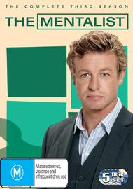 The Mentalist - Season 3 on DVD image