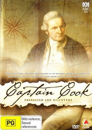 Captain Cook DVD on DVD image
