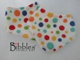 Bibbles Dribble Bibs - Lolly Dot