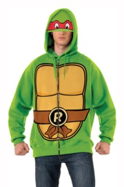 TMNT Raphael Costume Hoodie (X-Large)