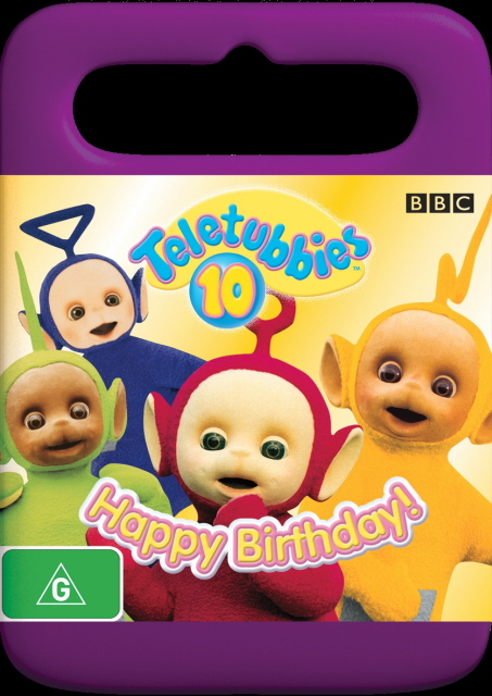 Teletubbies - 10: Happy Birthday! on DVD image