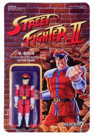 "Street Fighter II: M.Bison - 3.75"" Retro Action Figure"