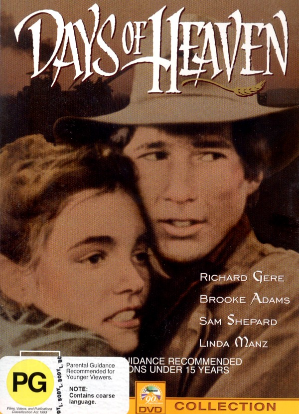 Days Of Heaven on DVD image