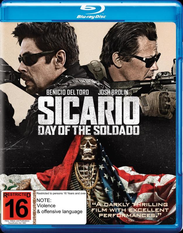 Sicario: Day Of The Soldado on Blu-ray
