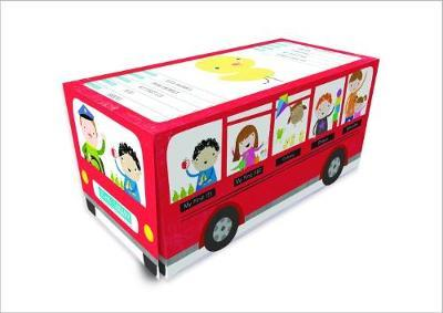 Little Library: Red Bus - 10 Book & Bookends Set