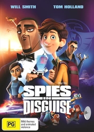 Spies in Disguise on DVD