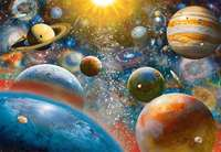 Ravensburger: 1,000 Piece Puzzle - Planetary Vision