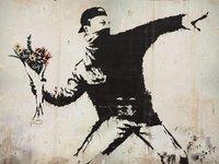 Urban Art Graffiti: 1,000 Piece Puzzle - Flower Thrower