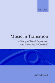 Music in Transition by Jim Samson image