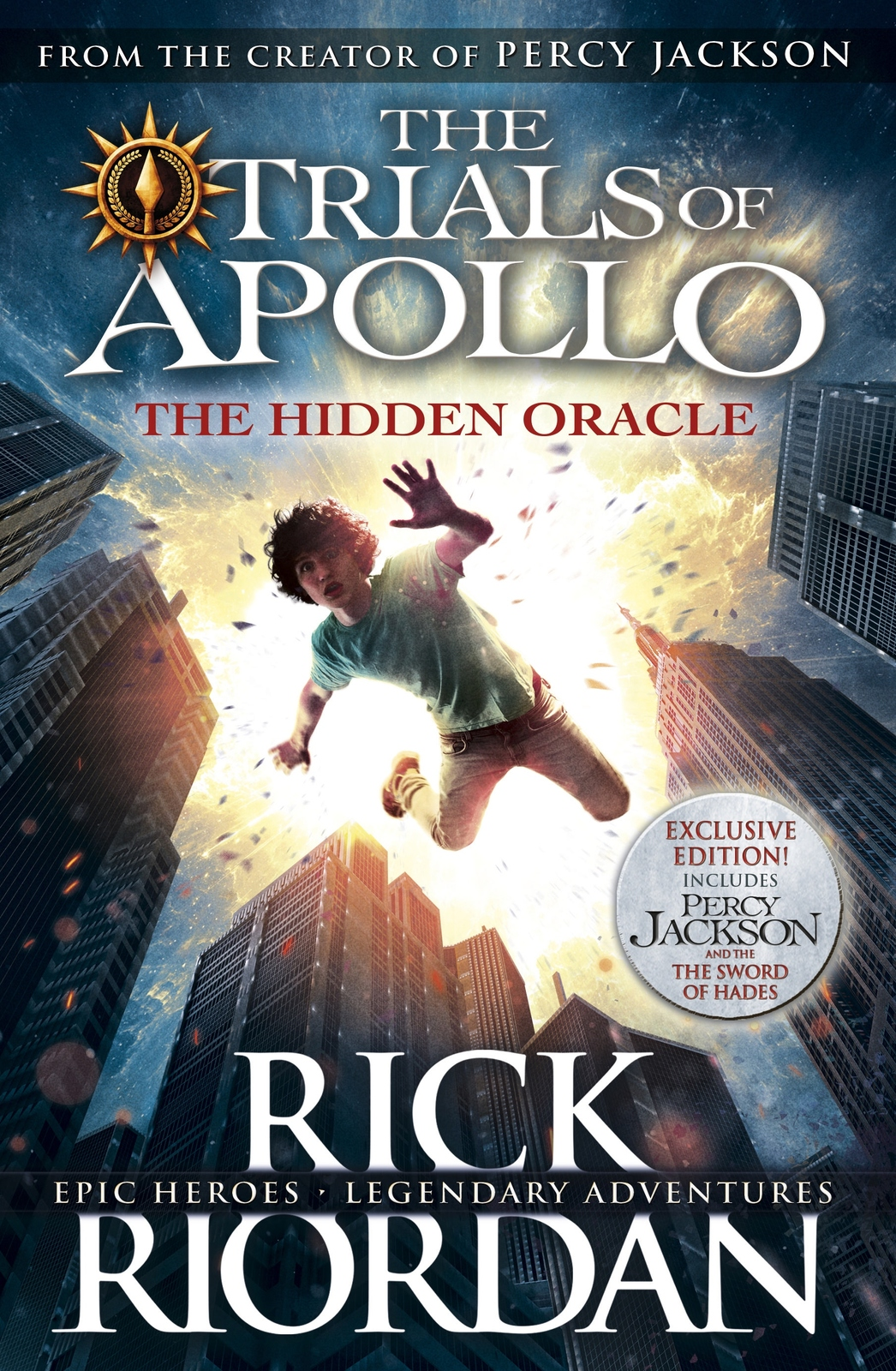 The Hidden Oracle by Rick Riordan image