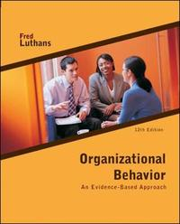 Organizational Behavior by Fred Luthans image