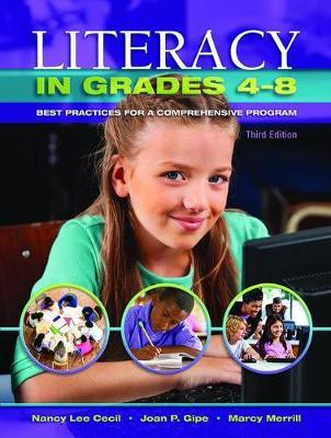 Literacy in Grades 4-8 by Nancy L. Cecil image