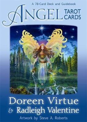 Angel Tarot Cards (Deck & Guidebook) by Doreen Virtue image